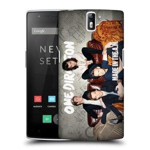 Plastové pouzdro na mobil OnePlus One HEAD CASE One Direction - Na Gaučíku