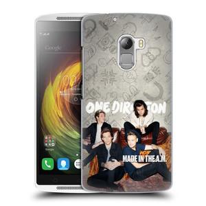 Plastové pouzdro na mobil Lenovo A7010 HEAD CASE One Direction - Na Gaučíku