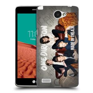 Plastové pouzdro na mobil LG Bello II HEAD CASE One Direction - Na Gaučíku