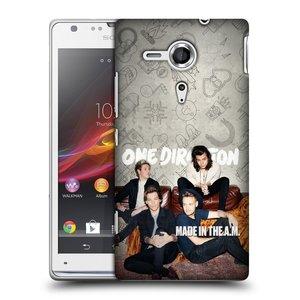 Plastové pouzdro na mobil Sony Xperia SP C5303 HEAD CASE One Direction - Na Gaučíku