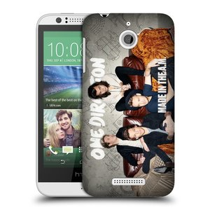Plastové pouzdro na mobil HTC Desire 510 HEAD CASE One Direction - Na Gaučíku