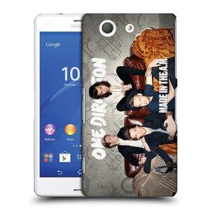 Plastové pouzdro na mobil Sony Xperia Z3 Compact D5803 HEAD CASE One Direction - Na Gaučíku