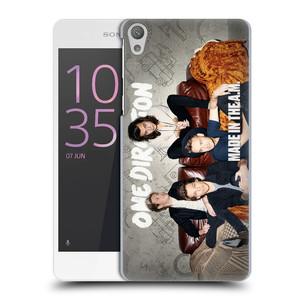Plastové pouzdro na mobil Sony Xperia E5 HEAD CASE One Direction - Na Gaučíku