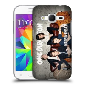 Plastové pouzdro na mobil Samsung Galaxy Core Prime VE HEAD CASE One Direction - Na Gaučíku