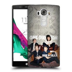 Plastové pouzdro na mobil LG G4 HEAD CASE One Direction - Na Gaučíku