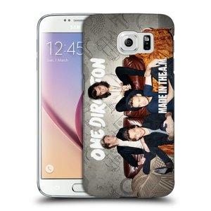 Plastové pouzdro na mobil Samsung Galaxy S6 HEAD CASE One Direction - Na Gaučíku
