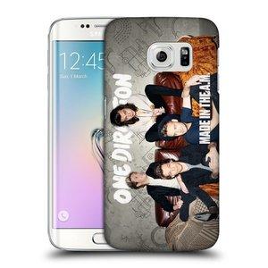 Plastové pouzdro na mobil Samsung Galaxy S6 Edge HEAD CASE One Direction - Na Gaučíku