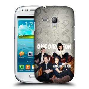 Plastové pouzdro na mobil Samsung Galaxy S III Mini HEAD CASE One Direction - Na Gaučíku