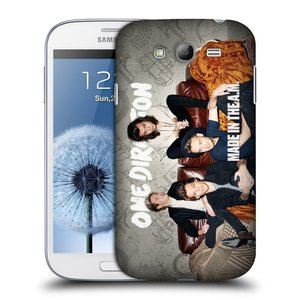 Plastové pouzdro na mobil Samsung Galaxy Grand Neo HEAD CASE One Direction - Na Gaučíku