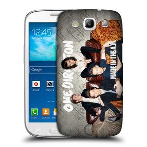 Plastové pouzdro na mobil Samsung Galaxy S III HEAD CASE One Direction - Na Gaučíku