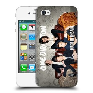 Plastové pouzdro na mobil Apple iPhone 4 a 4S HEAD CASE One Direction - Na Gaučíku