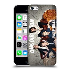 Plastové pouzdro na mobil Apple iPhone 5C HEAD CASE One Direction - Na Gaučíku