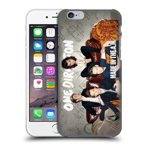 Plastové pouzdro na mobil Apple iPhone 6 HEAD CASE One Direction - Na Gaučíku