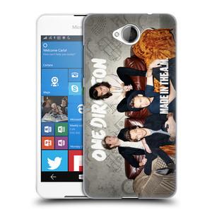 Plastové pouzdro na mobil Microsoft Lumia 650 HEAD CASE One Direction - Na Gaučíku