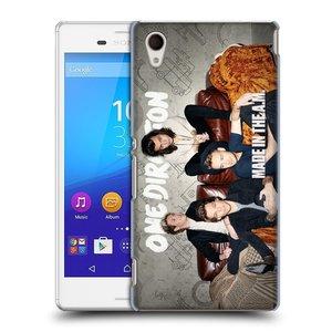 Plastové pouzdro na mobil Sony Xperia M4 Aqua E2303 HEAD CASE One Direction - Na Gaučíku