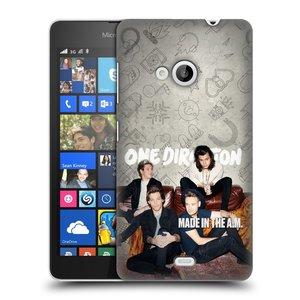 Plastové pouzdro na mobil Microsoft Lumia 535 HEAD CASE One Direction - Na Gaučíku