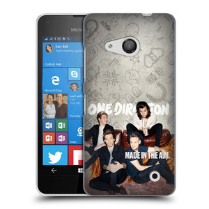 Plastové pouzdro na mobil Microsoft Lumia 550 HEAD CASE One Direction - Na Gaučíku