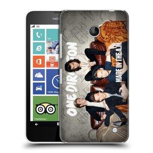 Plastové pouzdro na mobil Nokia Lumia 630 HEAD CASE One Direction - Na Gaučíku