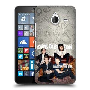 Plastové pouzdro na mobil Microsoft Lumia 640 XL HEAD CASE One Direction - Na Gaučíku
