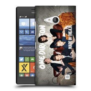 Plastové pouzdro na mobil Nokia Lumia 735 HEAD CASE One Direction - Na Gaučíku