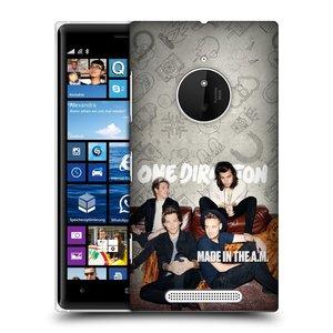 Plastové pouzdro na mobil Nokia Lumia 830 HEAD CASE One Direction - Na Gaučíku