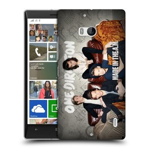 Plastové pouzdro na mobil Nokia Lumia 930 HEAD CASE One Direction - Na Gaučíku
