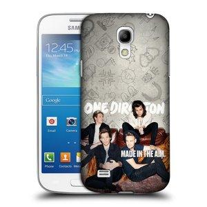 Plastové pouzdro na mobil Samsung Galaxy S4 Mini HEAD CASE One Direction - Na Gaučíku