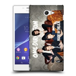 Plastové pouzdro na mobil Sony Xperia M2 D2303 HEAD CASE One Direction - Na Gaučíku