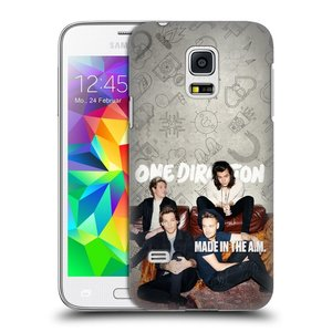 Plastové pouzdro na mobil Samsung Galaxy S5 Mini HEAD CASE One Direction - Na Gaučíku