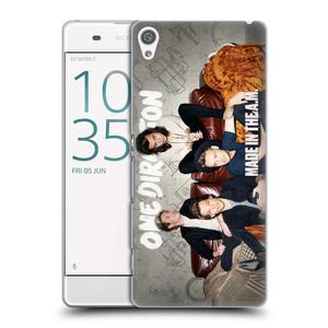 Plastové pouzdro na mobil Sony Xperia XA HEAD CASE One Direction - Na Gaučíku