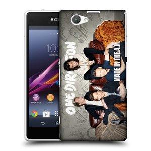 Plastové pouzdro na mobil Sony Xperia Z1 Compact D5503 HEAD CASE One Direction - Na Gaučíku
