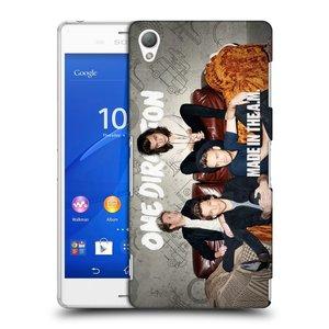 Plastové pouzdro na mobil Sony Xperia Z3 D6603 HEAD CASE One Direction - Na Gaučíku