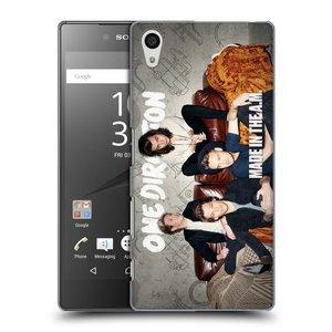 Plastové pouzdro na mobil Sony Xperia Z5 HEAD CASE One Direction - Na Gaučíku