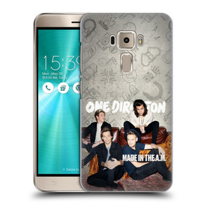 Plastové pouzdro na mobil Asus ZenFone 3 ZE520KL HEAD CASE One Direction - Na Gaučíku