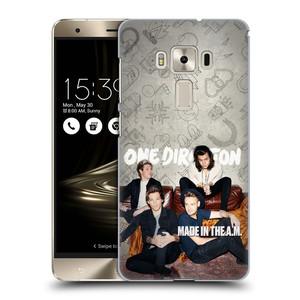 Plastové pouzdro na mobil Asus ZenFone 3 Deluxe ZS570KL HEAD CASE One Direction - Na Gaučíku