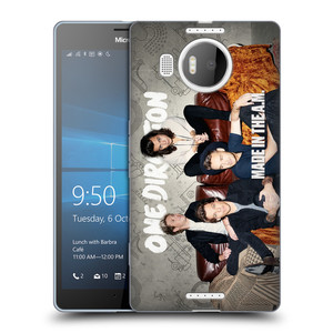 Silikonové pouzdro na mobil Microsoft Lumia 950 XL HEAD CASE One Direction - Na Gaučíku