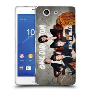 Silikonové pouzdro na mobil Sony Xperia Z3 Compact D5803 HEAD CASE One Direction - Na Gaučíku