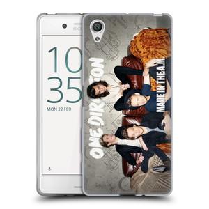 Silikonové pouzdro na mobil Sony Xperia X HEAD CASE One Direction - Na Gaučíku