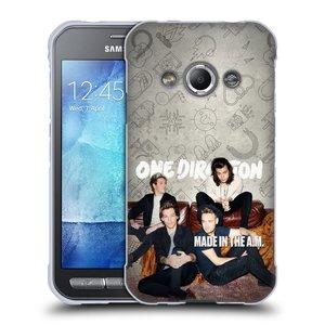 Silikonové pouzdro na mobil Samsung Galaxy Xcover 3 HEAD CASE One Direction - Na Gaučíku