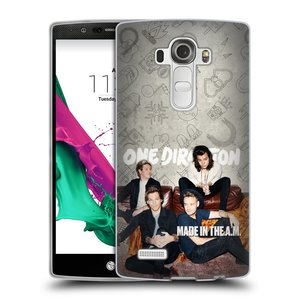 Silikonové pouzdro na mobil LG G4 HEAD CASE One Direction - Na Gaučíku
