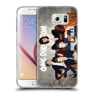Silikonové pouzdro na mobil Samsung Galaxy S6 HEAD CASE One Direction - Na Gaučíku