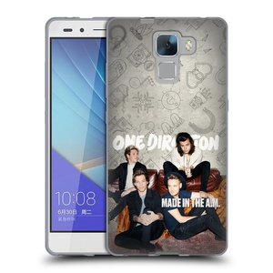 Silikonové pouzdro na mobil Honor 7 HEAD CASE One Direction - Na Gaučíku