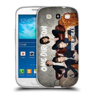 Silikonové pouzdro na mobil Samsung Galaxy S3 Neo HEAD CASE One Direction - Na Gaučíku