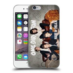 Silikonové pouzdro na mobil Apple iPhone 6 HEAD CASE One Direction - Na Gaučíku