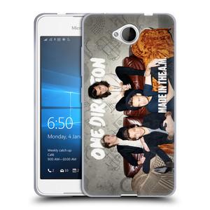 Silikonové pouzdro na mobil Microsoft Lumia 650 HEAD CASE One Direction - Na Gaučíku