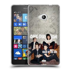 Silikonové pouzdro na mobil Microsoft Lumia 535 HEAD CASE One Direction - Na Gaučíku