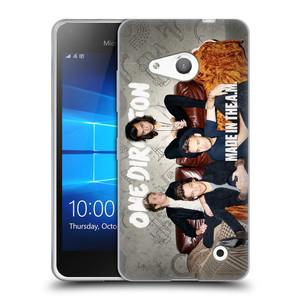 Silikonové pouzdro na mobil Microsoft Lumia 550 HEAD CASE One Direction - Na Gaučíku