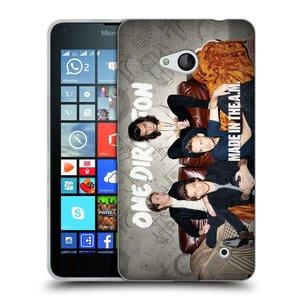 Silikonové pouzdro na mobil Microsoft Lumia 640 HEAD CASE One Direction - Na Gaučíku