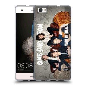 Silikonové pouzdro na mobil Huawei P8 Lite HEAD CASE One Direction - Na Gaučíku