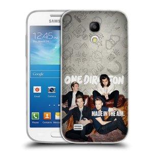 Silikonové pouzdro na mobil Samsung Galaxy S4 Mini HEAD CASE One Direction - Na Gaučíku